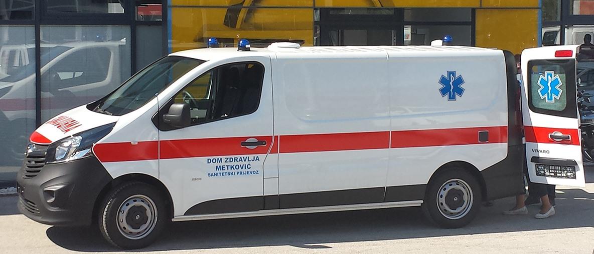Sanitetska vozila Opel PSC Zagreb