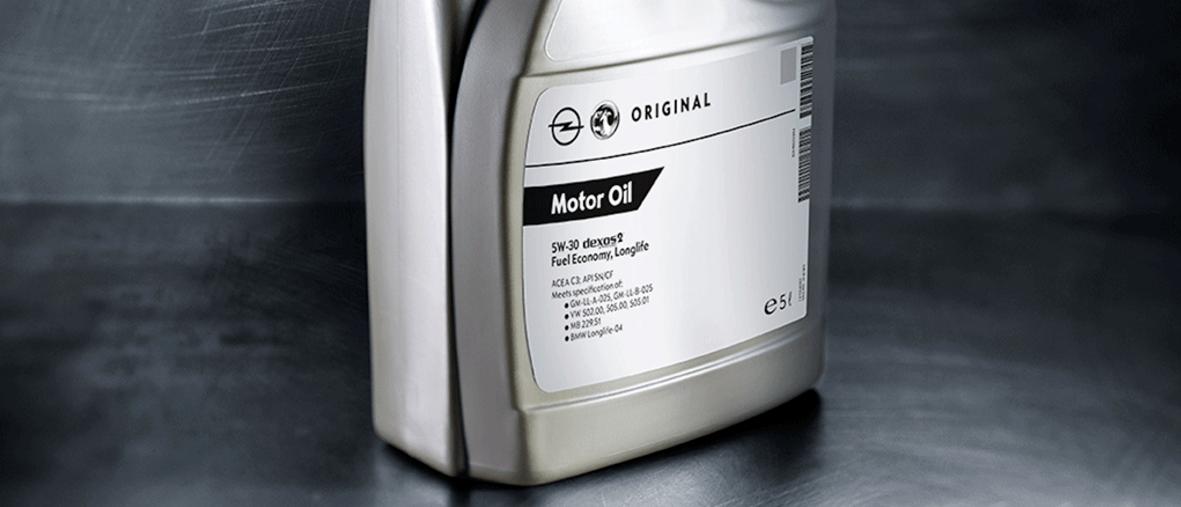 Originalno Opel motorno ulje