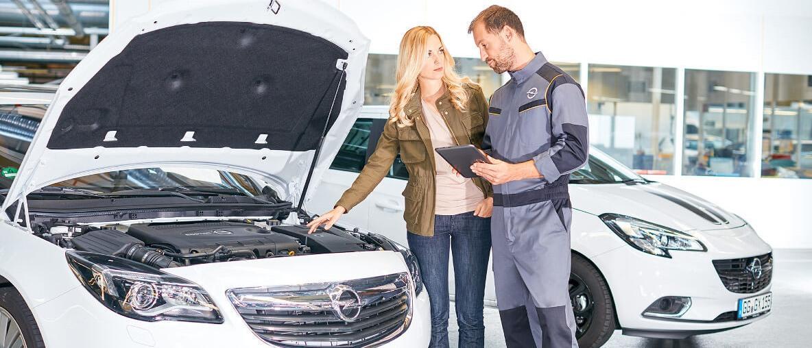 Opel Servis+ program
