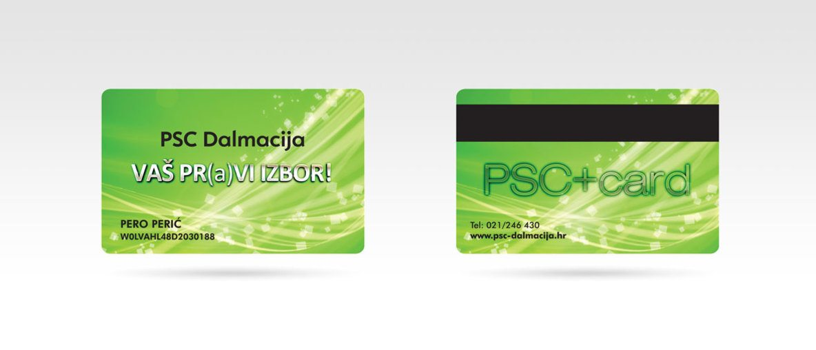 PSC+card Opel PSC Dalmacija Split