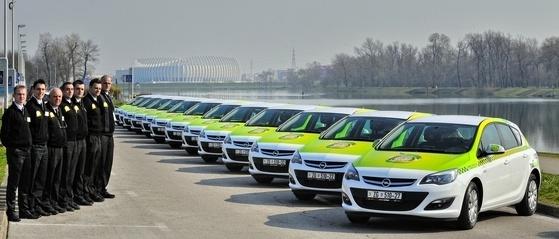 Cameo grupa novi vozni park Opel Astra 1.4 LPG
